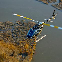 aviation industry Jet Ranger Helicopter