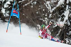 Katharina Liensberger (AUT) during the Ladies' Giant Slalom at 57th Golden Fox event at Audi FIS Ski World Cup 2020/21, on January 16, 2021 in Podkoren, Kranjska Gora, Slovenia. Photo by Vid Ponikvar