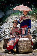 Local tribe women in Baka.