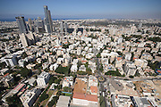Givatayim, Israel aerial view