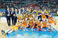 Herbalife Gran Canaria champions of the Supercopa of Liga Endesa 2016-2017 at Fernando Buesa Arena in Vitoria. September 24, Spain. 2016. (ALTERPHOTOS/BorjaB.Hojas)