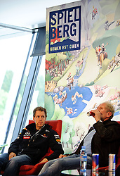 14.05.2011, Red Bull Ring, Spielberg, AUT, RED BULL RING, SPIELBERG, EROEFFNUNG, im Bild Sebastian Vettel, (Red Bull Racing), Dr. Helmut Marko, (Red Bull Racing) // during the official Opening for the Red Bull Circuit in Spielberg, Austria, 2011/05/14, EXPA Pictures © 2011, PhotoCredit: EXPA/ S. Zangrando