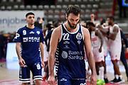 Stefano Gentile<br /> Openjobmets Varese - Banco di Sardegna Dinamo Sassari<br /> LBA Legabasket Serie A UnipolSai 2020-2021<br /> Varese, 06/03/2021<br /> Foto L.Canu / Ciamillo-Castoria