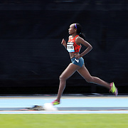 Mercy Cherono, Kenya, in action during her victory in the Women's 3000m during the Diamond League Adidas Grand Prix at Icahn Stadium, Randall's Island, Manhattan, New York, USA. 14th June 2014. Photo Tim Clayton