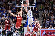 DESCRIZIONE : Eurolega Euroleague 2015/16 Group D Dinamo Banco di Sardegna Sassari - Brose Basket Bamberg<br /> GIOCATORE : Giacomo Devecchi<br /> CATEGORIA : Tiro Tre Punti Three Point Controcampo<br /> SQUADRA : Dinamo Banco di Sardegna Sassari<br /> EVENTO : Eurolega Euroleague 2015/2016<br /> GARA : Dinamo Banco di Sardegna Sassari - Brose Basket Bamberg<br /> DATA : 13/11/2015<br /> SPORT : Pallacanestro <br /> AUTORE : Agenzia Ciamillo-Castoria/L.Canu