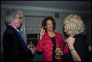 PETER STOTHARD; ; AMINATTA FORNA; SALLY EMERSON, Fortnum and Mason and Quartet books host a celebration for the publication of  The White Umbrella by Brian Sewell. Illustrated by Sally Ann Lasson. Fortnum and Mason. Piccadilly. London. 3 March 2015.
