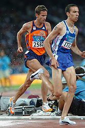 Simon Vroemen in action during Olympics Games Athletics day 12 on August 24, 2004 in Olympic Stadion Spyridon Louis, Athens.