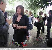 Josephine Hart. Faber & Faber summer party. Sq. London. <br /> © Copyright Photograph by Dafydd Jones 66 Stockwell Park Rd. London SW9 0DA Tel 020 7733 0108 www.dafjones.com