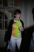 Sarah Wodehouse. Book party to celebrate the publication of ' How the King of Scots Won the Throne of England in 1603 by Leanda de Lisle. St. Wilfred's Hall. Brompton Oratory. London. 9 May 2005. ONE TIME USE ONLY - DO NOT ARCHIVE  © Copyright Photograph by Dafydd Jones 66 Stockwell Park Rd. London SW9 0DA Tel 020 7733 0108 www.dafjones.com