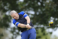 David Hunt (Nenagh) during the second round at the Connacht Mid Amateur Open, Roscommon Golf Club, Roscommon, Roscommon, Ireland. 17/08/2019.<br /> Picture Fran Caffrey / Golffile.ie<br /> <br /> All photo usage must carry mandatory copyright credit (© Golffile   Fran Caffrey)