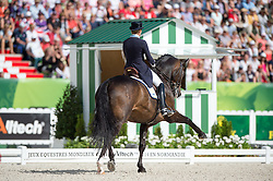 Tinne Vilhelmson Silfven, (SWE), Don Auriello - Freestyle Grand Prix Dressage - Alltech FEI World Equestrian Games™ 2014 - Normandy, France.<br /> © Hippo Foto Team - Jon Stroud<br /> 25/06/14
