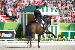 Tinne Vilhelmson Silfven, (SWE), Don Auriello - Freestyle Grand Prix Dressage - Alltech FEI World Equestrian Games™ 2014 - Normandy, France.<br /> © Hippo Foto Team - Jon Stroud<br /> 25/06/14