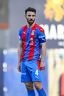Sean Walsh (#4) of Inverness Caledonian Thistle FC during the SPFL Championship match between Heart of Midlothian and Inverness CT at Tynecastle Park, Edinburgh Scotland on 24 April 2021.