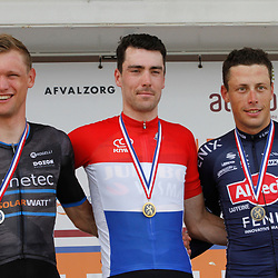 WIJSTER (NED) June 20: <br /> CYCLING <br /> Dutch Nationals Road Men up and around the Col du VAM<br /> Timo Roosen (Netherlands / Team Jumbo - Visma) is the new Dutch Elite champion. 2nd Sjoerd Bax (Netherlands / Metec - TKH Continental Cyclingteam p/b Mantel) and 3th Oscar