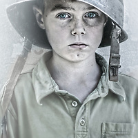 Portrait for Sacramento Magazine article on Families left behiind wen a parent goes to war<br /> Terence Duffy Photographs, based in Sacramento California, specializing in environmental portraiture for commercial advertising, lifestyle, location, auto, editorial clients.