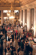 Opening night gala party at the San Francisco Opera, War Memorial Opera House, San Francisco, California