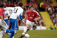 Photo: Leigh Quinnell.<br /> Bristol City v Middlesbrough. The FA Cup. 27/01/2007.<br /> Bradley Orr on the attack for Bristol City.