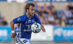 Frederik Gytkjær (Lyngby Boldklub) under kampen i 3F Superligaen mellem Lyngby Boldklub og Hobro IK den 20. juli 2020 på Lyngby Stadion (Foto: Claus Birch).
