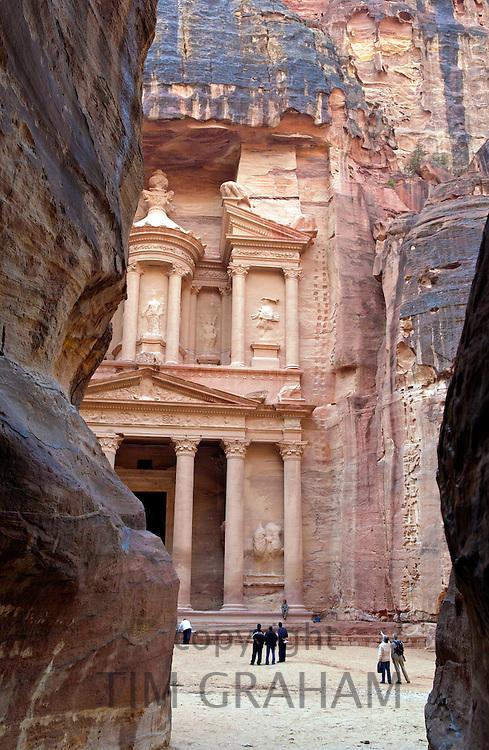 The Treasury Building, Petra, Jordan