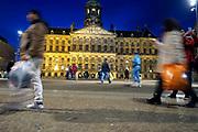 Nederland, Amsterdam, 5-3-2019 Het Koninklijk Paleis op de Dam van architect Jacob van Campen Foto: Flip Franssen