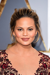File photo dated 28/02/16 of Chrissy Teigen who has threatened to take legal action against a fashion designer she alleged shared faked messages claiming to be from her amid a bullying row. Issue date: Saturday June 19, 2021.