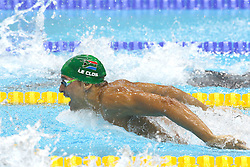 Chad le Clos of South Africa during the Men's 200m Butterfly semi-final  held at the aquatics centre at Olympic Park  in London as part of the London 2012 Olympics on the 30th July 2012.Photo by Ron Gaunt/SPORTZPICS