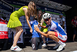 Aljaz Jarc (SLO) of Adria Mobil during 2nd Stage of 26th Tour of Slovenia 2019 cycling race between Maribor and Celje (146,3 km), on June 20, 2019 in  Slovenia. Photo by Vid Ponikvar / Sportida