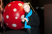 ANTHONY FAWCETT, Yayoi Kusama opening. Tate Modern. London. 7 February 2012