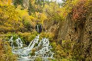 Roughlock Falls, Spearfish Canyon, Black Hills. Photo taken September 29, 2017.