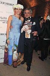 CELINA TEAGUE and BALDASSARE LA RIZA at Wanderlust - the Contemporary Art Society Annual Fundraising Gala held at Old Vic Tunnels, London on 13th March 2013.
