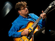 Renowned guitarist / harmonicist Pat Bergeson live in the Jazz Cave of the Nashville Jazz Workshop