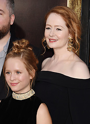 HOLLYWOOD, CA - AUGUST 07: Actor attends the premiere of New Line Cinema's 'Annabelle: Creation' at TCL Chinese Theatre IMAX on August 07, 2017 in Los Angeles, California. 07 Aug 2017 Pictured: HOLLYWOOD, CA - AUGUST 07: Actresses Lulu Wilson (L) and Miranda Otto attend the premiere of New Line Cinema's 'Annabelle: Creation' at TCL Chinese Theatre IMAX on August 07, 2017 in Los Angeles, California. Photo credit: Jeffrey Mayer / MEGA TheMegaAgency.com +1 888 505 6342