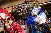 Carnival masks, Venice, Veneto, Italy