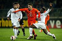 Fotball, EM kvalifisering, Nederland - Armenia , seizoen 2004-2005 ,  jong oranje - armenie , tilburg , 29-03-2005 . stijn schaars