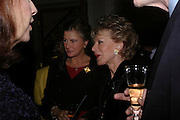 Marchioness of Doura and Lily Safra, Celebration honouring the arrival of Deborah Swallow, director, Courtauld Institute of Art. Courtauld Gallery. Somerset House. 9 December 2004. ONE TIME USE ONLY - DO NOT ARCHIVE  © Copyright Photograph by Dafydd Jones 66 Stockwell Park Rd. London SW9 0DA Tel 020 7733 0108 www.dafjones.com