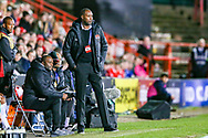 Trinidad and Tobago Manager Dennis Lawrence during the Friendly European Championship warm up match between Wales and Trinidad and Tobago at the Racecourse Ground, Wrexham, United Kingdom on 20 March 2019.
