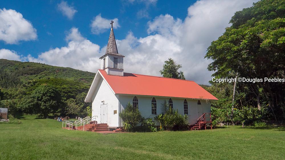 St. Damien's Our Lady of Sorrows Church, 1874, Molokai, Hawaii