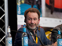 Autor Per Petterson at the press conference for the film Out Stealing Horses (Ut Og Stjæle Hester) at the 69th Berlinale International Film Festival, on Saturday 9th February 2019, Hotel Grand Hyatt, Berlin, Germany.