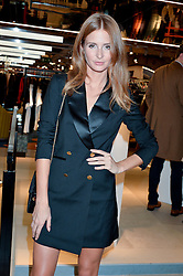 LONDON, ENGLAND 8 DECEMBER 2016: Millie Mackintosh at a party to celebrate the collaboration of Taylor Morris Eyewear and The Morgan Motor Company held at Harvey Nichols, Knightsbridge, London, England. 8 December 2016.