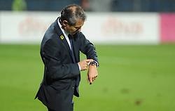 09.10.2015, Gradski Stadion, Podgorica, MNE, UEFA Euro Qualifikation, Montenegro vs Oesterreich, Gruppe G, im Bild Marcell Koller Coach Austria // during the UEFA EURO 2016 qualifier group G match between Montenegro and Austria at the Gradski Stadion in Podgorica, Montenegro on 2015/10/09. EXPA Pictures © 2015, PhotoCredit: EXPA/ Risto Bozovic