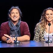 NLD/Hilversum/20120821 - Perspresentatie 3de seizoen The Voice of Holland 2012 / 2013, Marco Borsato, Trijntje Oosterhuis