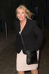 © Licensed to London News Pictures.08/04/2014. London, UK. Nadine Dorries arrives at the Intercontinental Hotel in Westminster for the book launch party of her first novel, The Four Sisters. Photo credit : Simon Ford/LNP