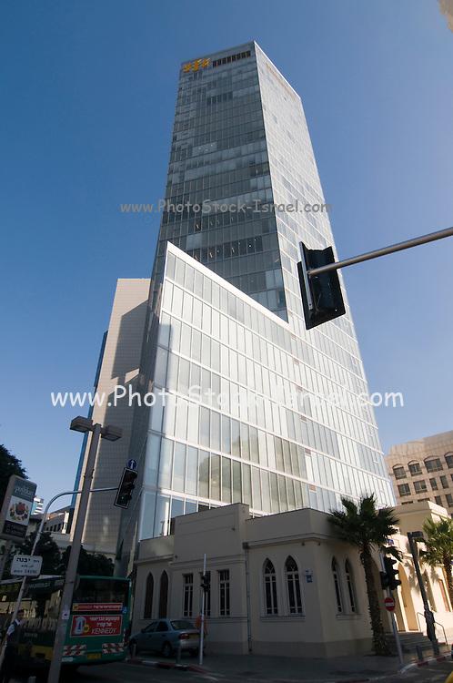 Israel, Tel Aviv, Headquarters of FIBI (First International Bank of Israel)