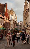 06.2014 Wilno Litwa n/z ulica Pilies ( Zamkowa ) fot Michal Kosc / AGENCJA WSCHOD