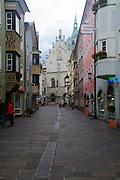 Austria, Tyrol, Schwaz. Franz Josef Street