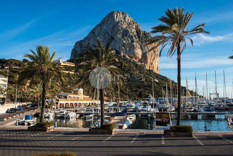 Parque Natural del Peñón de Ifach y puerto de Calpe. Alicante. España ©Antonio Real Hurtado / PILAR REVILLA