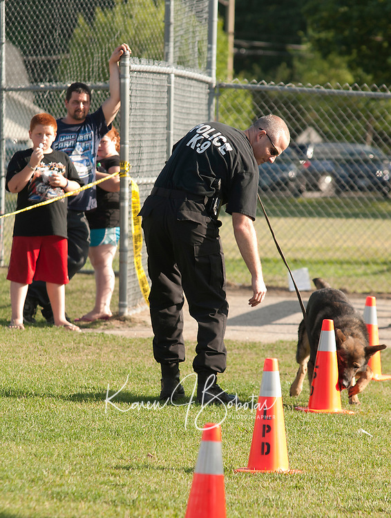 National Night Out with Laconia Police Department Block Party celebration at Opechee Cove Tuesday, August 2, 2011.