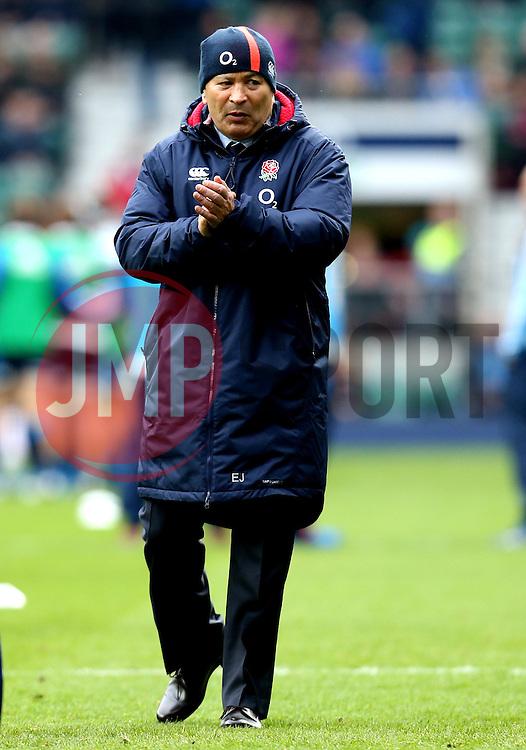 England head coach Eddie Jones - Mandatory by-line: Robbie Stephenson/JMP - 26/02/2017 - RUGBY - Twickenham Stadium - London, England - England v Italy - RBS 6 Nations round three