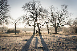 File photo dated 31/01/19 of heavy frost in Wanstead Park in north-east London, as the early May bank holiday will see snow and frost, with temperatures plunging close to the coldest on record - just a year on from the hottest ever recorded.