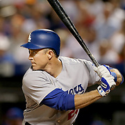 NEW YORK, NEW YORK - May 27:  Chase Utley #26 of the Los Angeles Dodgers batting during the Los Angeles Dodgers Vs New York Mets regular season MLB game at Citi Field on May 27, 2016 in New York City. (Photo by Tim Clayton/Corbis via Getty Images)